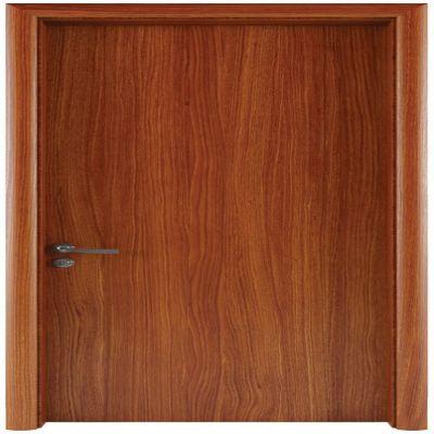 FL101- Cửa gỗ FLATTA Phẳng Trơn (Nâu Hiện Đại)