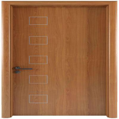 LA107-Cửa gỗ LINEART (Vân phẳng chỉ soi)