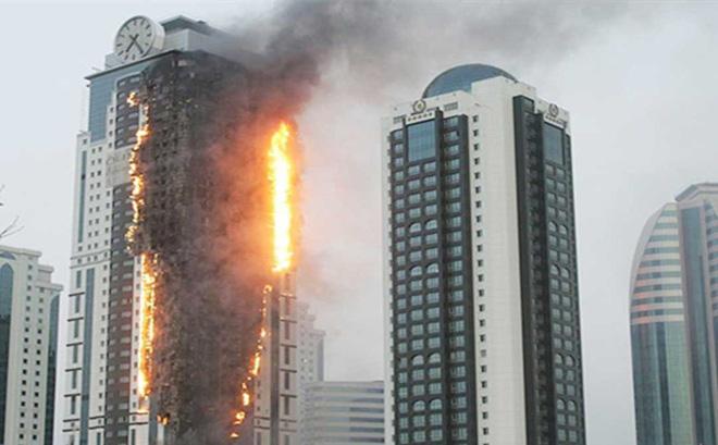cháy nhà cao tầng